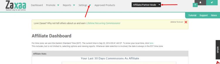 zaxaa-settings-affiliate-payout